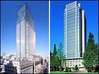丸ビルや日本橋三井タワーなど有名建築物をはじめ、市ヶ谷の防衛庁本庁舎ほかにも同社の建材が採用されています。