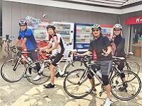 社外の交流として趣味の合う仲間同士で、キャンプ、ロードバイク、御神輿、BBQを行ったりしています。