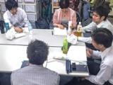 https://iishuusyoku.com/image/月1回の全社員が集まる勉強会と、月2回の任意参加の自習会が開催されています。 技術的な相談や、社員交流もできる機会です。