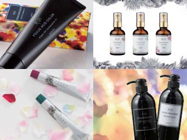 理美容業界では、「髪に優しい弱酸性ヘアカラー剤」が圧倒的な支持を集め 多数のサロンで当社製品が導入されています