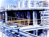 環境プラントは、さまざまな装置やシステムを融合して建設される複雑な施設。創業以来培ってきた技術をもとに、地球環境保全にも大きく貢献しています。