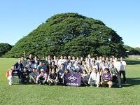 2-3年に1回、社員旅行に出かけています。2年前はハワイへ!もうすぐ創業100年。次はどこに行けるか楽しみです!