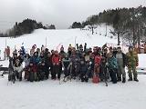 毎年開催されるスキー旅行。スキーができなくても大丈夫!雪景色を楽しんだり、美味しいお食事を楽しんだりと、楽しい旅行です。