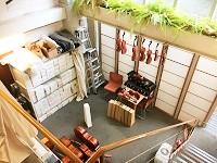 擦弦楽器演奏用に設計されており、階高5mのフロアもあります。
