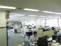 http://iishuusyoku.com/image/社内は明るく広々!平均勤続年数も長く、定着率が高いのも同社の特徴。周りには頼れる先輩がたくさんいます。