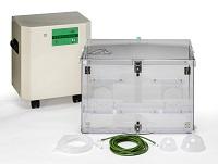 国内初となる動物専用の酸素濃縮器を開発!! 多くの獣医師さんから選ばれるペット用酸素濃縮器専門メーカーとして国内トップシェアを誇ります。