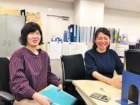 https://iishuusyoku.com/image/技術系事務と総務系事務の先輩が優しく丁寧にフォローしますので、未経験でも安心してくださいね!