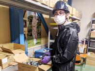 http://iishuusyoku.com/image/迅速にお届けできる対応力が同社の強み。製品の管理を行う「倉庫管理職」の業務は同社の重要なポジションとなっています。