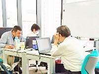 https://iishuusyoku.com/image/若手の育成に力を入れている同社。入社後の研修はもちろん、配属先でもベテランの先輩社員からの教育体制が整っています!