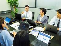 ITについては、ほとんど素人の状態で入社した人も、業務で分からない点は先輩や上司の皆さんがとても親身になって指導してくれます。