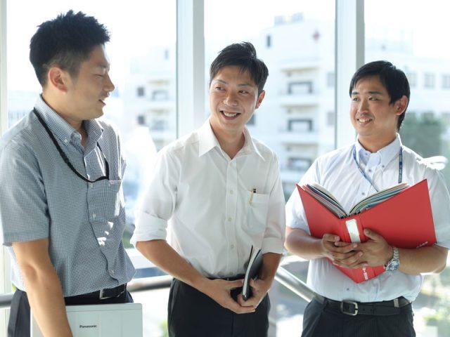 専門的な知識はなくても大丈夫!覚える大変さを知っている上司や先輩がしっかりとフォローしますのでご安心ください。