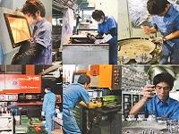 製造を担う技術のメンバーは20代から60代のベテランまで幅広い年代が揃います!