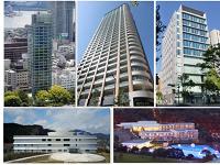 あなたの街のビルやマンションに、同社の実績がたくさん!
