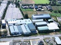 同社の一貫体制を最大限に活かせる機能性に重視しレイアウトされた工場棟。地球環境にも配慮しています。