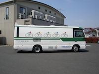 https://iishuusyoku.com/image/街中でよく見かけるレントゲン車。胸部・胃部・マンモグラフィなどの検査を行っています!