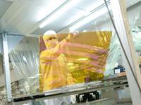 http://iishuusyoku.com/image/液晶テレビなどに使われるFPD(フラットパネルディスプレイ)を製造するための装置を開発しています。先端技術分野を常にリードしています!