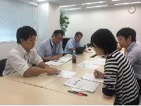 社内では定期的に勉強会やロールプレイング等を実施し、情報共有・技術向上を目指して日々切磋琢磨しています。