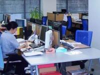 https://iishuusyoku.com/image/明るく広々としたオフィスで働くことができます。会議室などもおしゃれです。