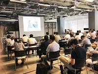 http://iishuusyoku.com/image/- See the Unseen- データを通じて、お客様の見えない「モノ」を可視化する。同社の主催するデータ活用セミナーはいつも盛況しています。