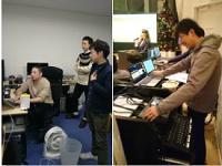 https://iishuusyoku.com/image/投影する映像やタイミングを事前に確認するVチェック(写真左)企業の講演会でのリハーサル風景(写真右)