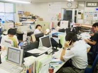 https://iishuusyoku.com/image/活気に溢れる社内。今日も多くのお客様から、「紙」の相談が同社に寄せられています。