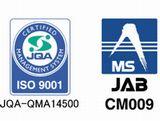 http://iishuusyoku.com/image/ISO9001の認証取得及び運用を通して業務品質の向上を図り、お客さまに満足していただけるように努めています。