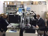 営業とヘルプデスク、ワンフロアに全ての社員が集まるので、コミュニケーションがとりやすい環境です!