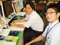 http://iishuusyoku.com/image/社内の様子です。入社後は先輩によるOJT研修を用意しています。わからないことがあれば、何でも聞いてくださいね。
