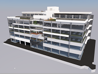 鹿島建設が施主様にプレゼンテーションするための完成模型やプロポーザルを制作していきます。