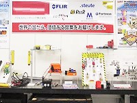 https://iishuusyoku.com/image/本社内にある展示室。「計測・制御技術」と「最新センサ技術」を搭載した国内外の優れた商品が並びます!