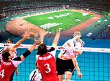 https://iishuusyoku.com/image/陸上競技場のトラックやサッカー場などの人工芝、大会用サッカーコート・テニスコート・バレーボールコートなど、さまざまなスポーツの場面で使用される資材も提供しています。