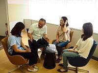 https://iishuusyoku.com/image/スタッフ全員が主役です。社員全員参加で意見を出し合い、個性を重視した会社作りを行っています!
