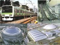 鉄道車両やエレベーター、エスカレーター、ドームの外壁など、様々なところで活躍するステンレスを加工販売しています!