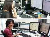 http://iishuusyoku.com/image/PCはマルチディスプレイでデスクも広々。多彩な休暇制度や、スキルアップ制度(社外の研修やセミナーの受講も積極的に推奨)があり、従業員が楽しく働ける環境づくりに努めています。
