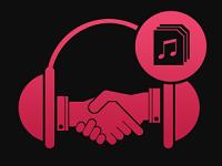 AWA、Amazon Music、Spotify、LINE MUSIC、etc,……。より多くのアーティストの音楽をより多くのユーザーに届けることで、音楽業界に貢献します。
