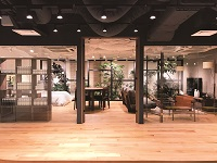 https://iishuusyoku.com/image/2016年11月にオフィスを増床。ブランドの世界観を表したオフィス。恵比寿にあり、都心ど真ん中のオシャレな環境です。