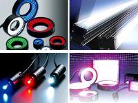 最先端の光技術であらゆる産業の高品質を実現しています。電子部品の製造ラインでは製品に異物混入がないかを検査したり、食品業界では鮮度を調べたりと、赤外照明に使われるLEDを開発しています!