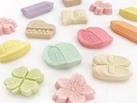 和三宝糖を100%使用した美しい形のお干菓子「和三盆(わさんぼん)」を製造している老舗企業です!