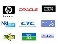 日本IBM、日本オラクル、野村総合研究所、NTTデータ、伊藤忠テクノソリューションズなど、大手SIer・ベンダーとの共同作業で技術を提供しています!
