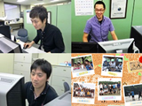 http://iishuusyoku.com/image/社員ひとりひとりのノウハウや技術を財産と捉え、社員のスキルアップを促す『人財育成』に力を入れており、社員自身で多種多様なイベントや研修制度を考案し実施しています。