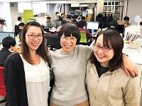 ♪♪女性が活躍中♪♪ 明るいメンバーが揃う社内に揃います。わたしたちと一緒に、明るく会社を支えていきませんか?