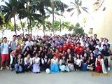社員に好評な社員旅行もあります。これまでにグアム、プーケット、台湾、バリ、韓国、そして今年はハワイに行きました。