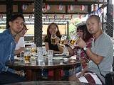 https://iishuusyoku.com/image/沖縄旅行での1コマ。やるときはやる、休む時は休む!メリハリがある社風です。