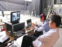 TVCMやプロモーション映像、WEBサイトや携帯アプリ、パチンコ等の遊技機のムービーや画像の企画開発、デジタルサイネージなどを手掛けています