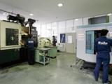 http://iishuusyoku.com/image/同社のトライアルセンタ。セミドライ加工に興味のある顧客向けに、生産ラインでのトライアル前にセミドライ加工の可能性を探るもです。いつでも加工実験ができます。
