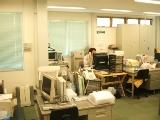 オフィスの様子です。アットホームな雰囲気で、和やかな社員さんが多い会社です。