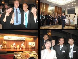 https://iishuusyoku.com/image/40周年記念パーティでの一コマ。普段は拠点ごとに離れている社員とも交流できる貴重な機会です。