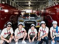 """http://iishuusyoku.com/image/国内最高峰の自動車レースであるSUPER GTで活躍をしている""""Audi Team Hitotsuyama""""様に対して、データ分析の面で支援しています!"""
