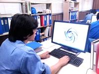 http://iishuusyoku.com/image/製品開発、鋳造、機械加工、組立、検査、塗装、出荷の各工程において高度な技術が生かされています!