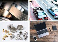 銅・ステンレス・アルミなどの非鉄金属をメインに電線や電子部品も取り扱う商社。取り扱った素材はデジタル製品や自動車などの部品になり私たちの手元に届きます。